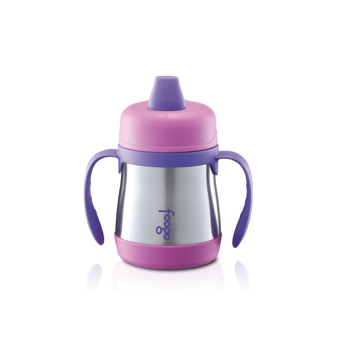 Bs500 Series Foogo Soft Pout Sippy Cup With Handle