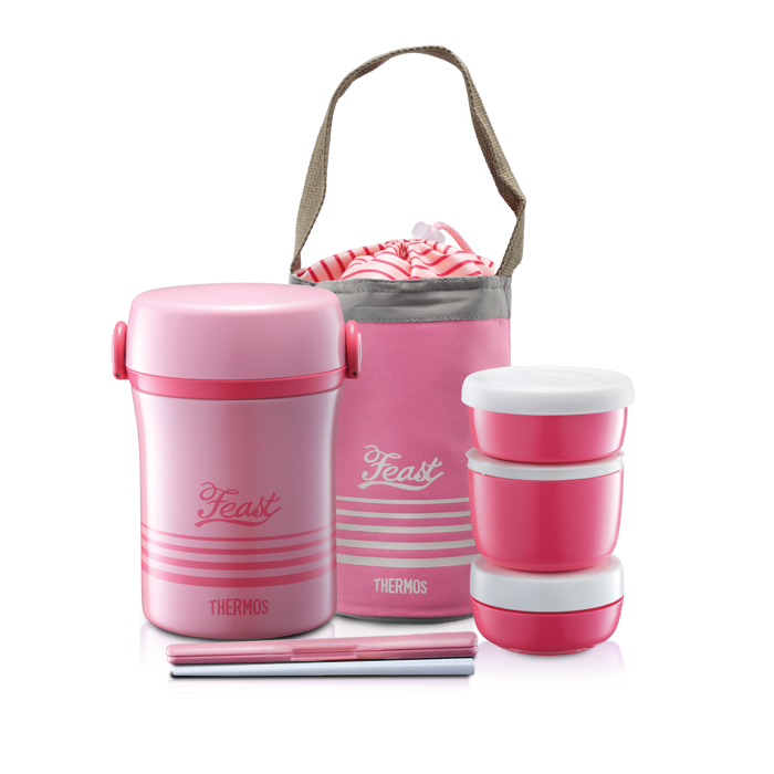 Jbc Series Lunch Jar With Chopstick Amp Pouch Thermos Malaysia