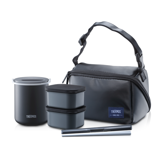 Dbq Series Hygienic Food Container With Chopstick Amp Pouch