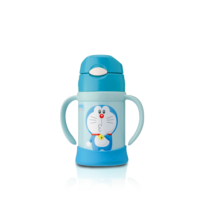 Fhi Doraemon Sippy Cup With Handle Thermos Malaysia